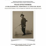 "Seminario CEPOC 2016: ""Police Effectiveness"""